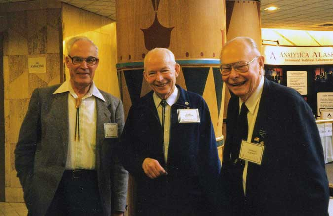 Colp, Beistline and Schmidt at AMA meeting
