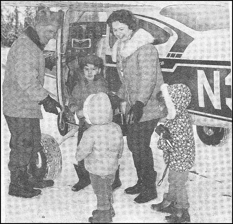 Family goes to Nenana to vote